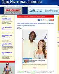 Yvette Prieto Photos Bikini Model Sheds Swimsuit for: The National Ledger